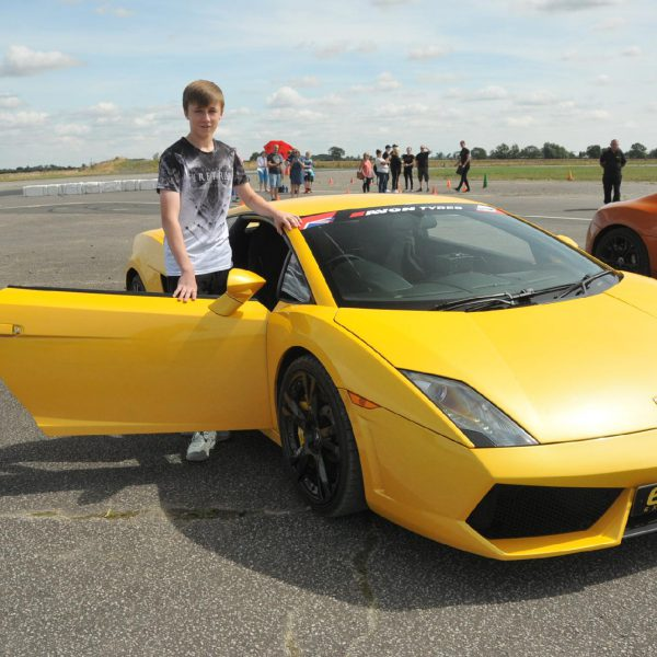 Ultimate Triple Lamborghini Driving Experience: Junior Lamborghini Driving Experience With Supercar Hot Lap