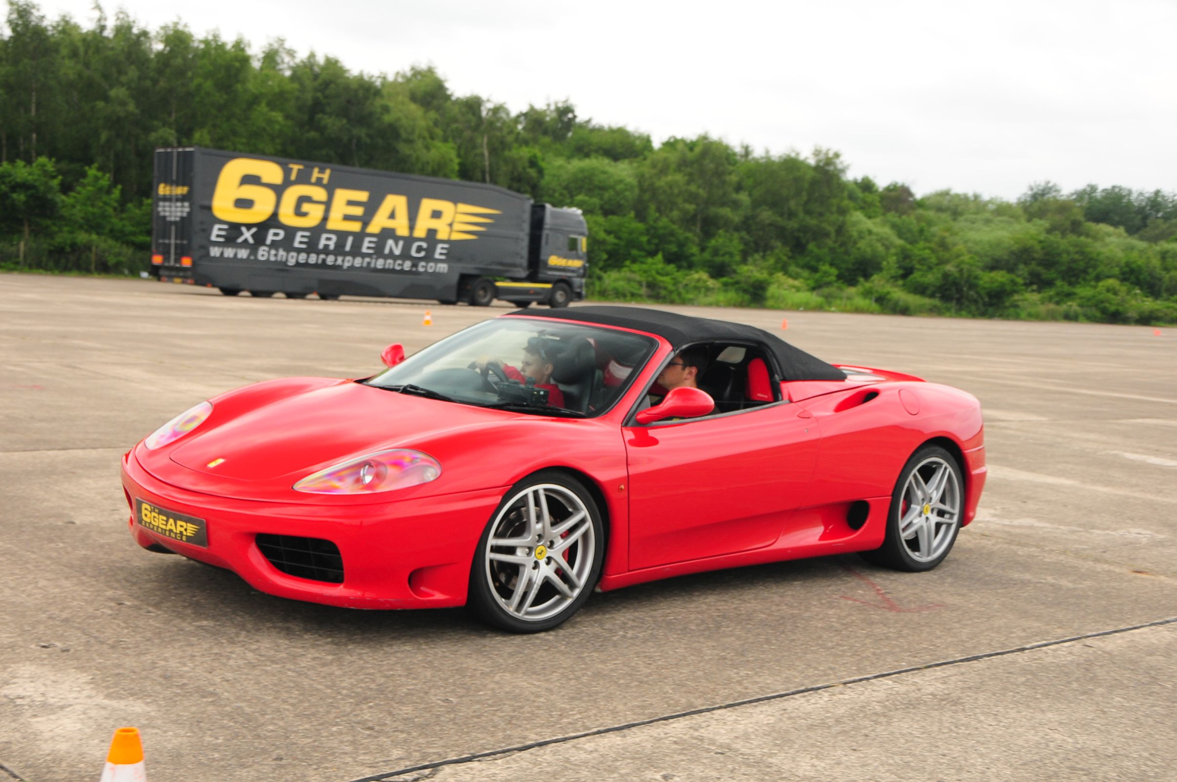 Junior Supercar Driving Experience With Supercar Hot Lap