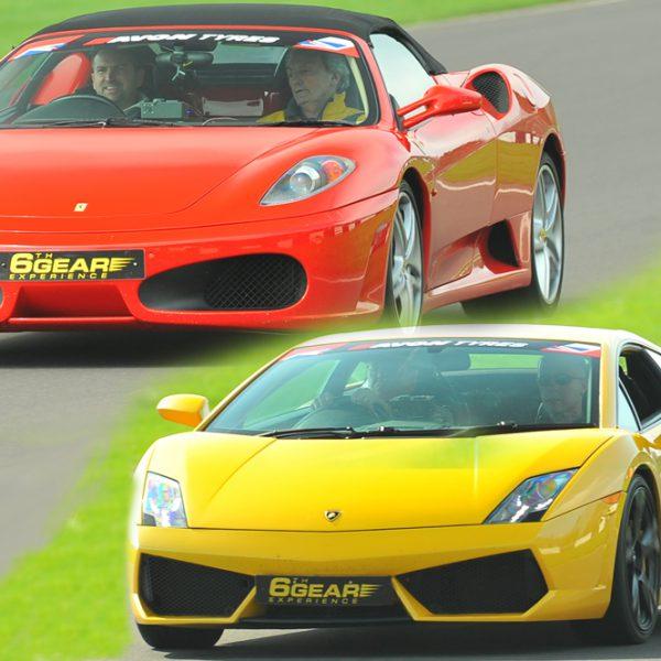 Lamborghini Driving Experience: Ferrari V Lamborghini Driving Experience 6th Gear