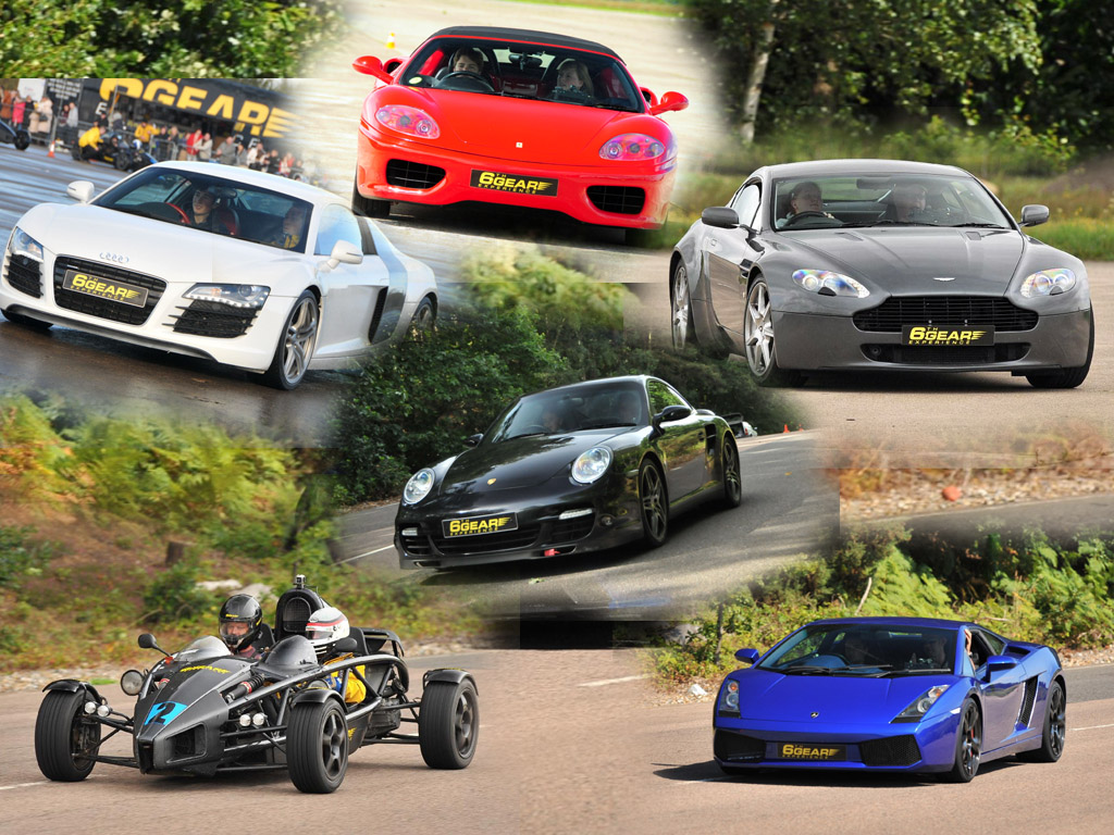 Supercar Driving Experience Experiences From Gear