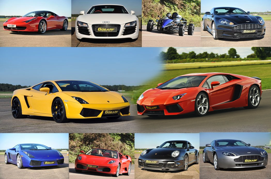 Supreme Supercar Driving Experience From Gear