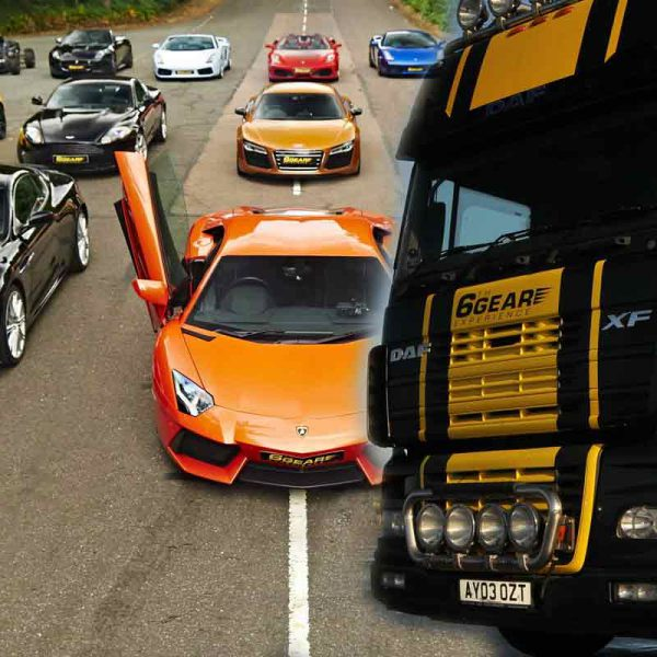 Truck Vs Supercar