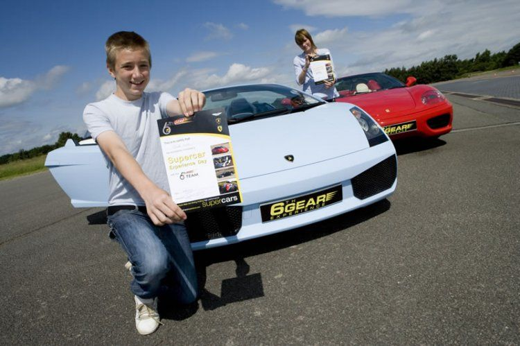 Junior Supercar Driving Experience From Gear