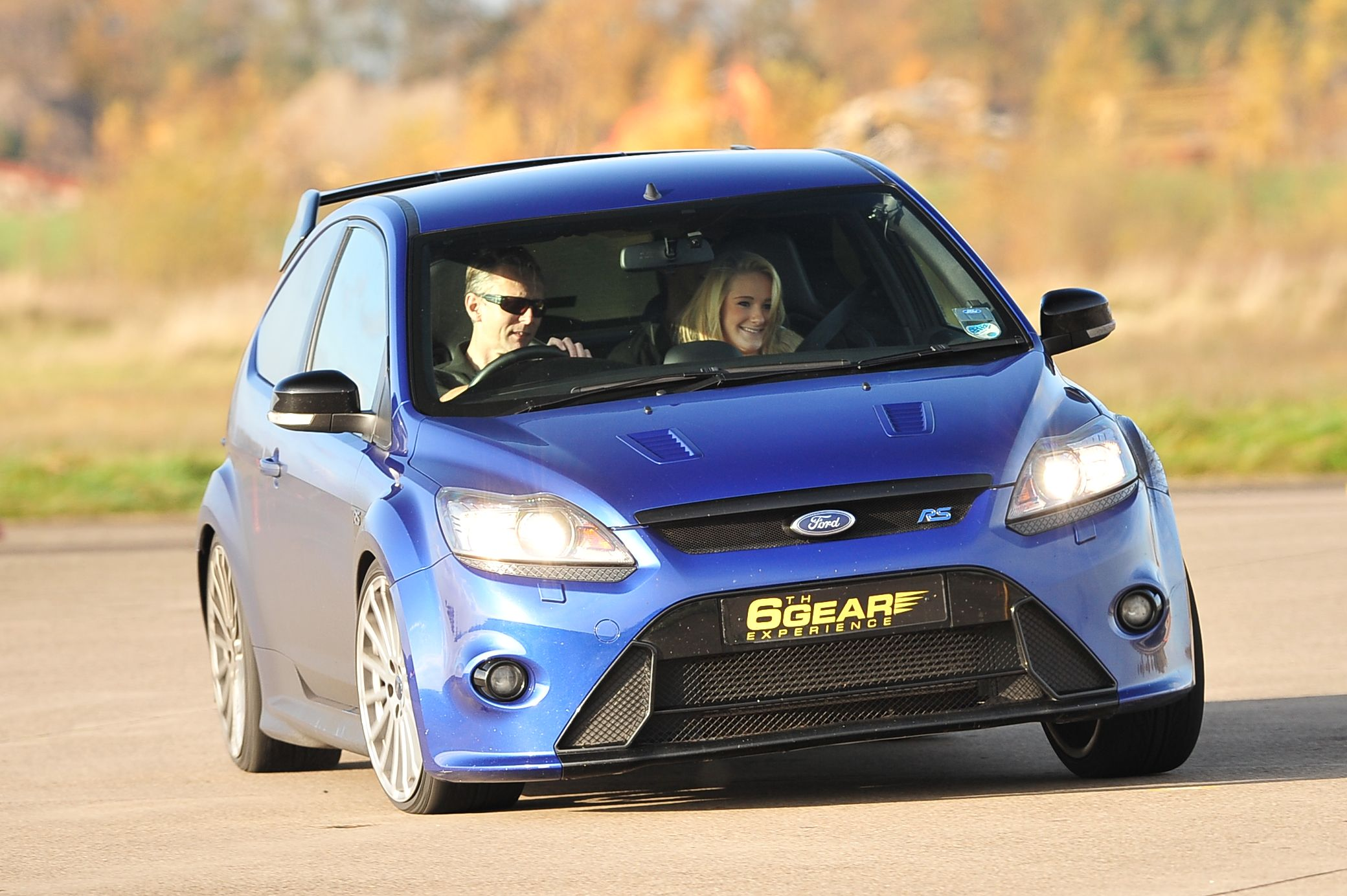 Ford Focus Rs Driving Experience From 6th Gear