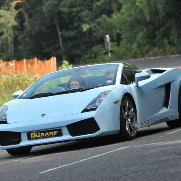 Lamborghini Driving Experience: Junior Lamborghini Driving Experience
